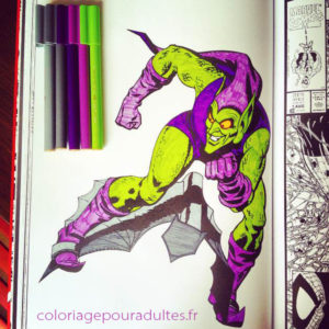 bouffon-vert-coloriage-marvel