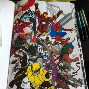 marvel-coloriage